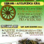 29 d'abril 2017. Trobada de la Xarxa de la Terra: Sobirania i Autosuficiència rural