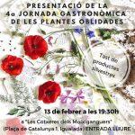 4a Jornada Gastronòmica de les Plantes Oblidades